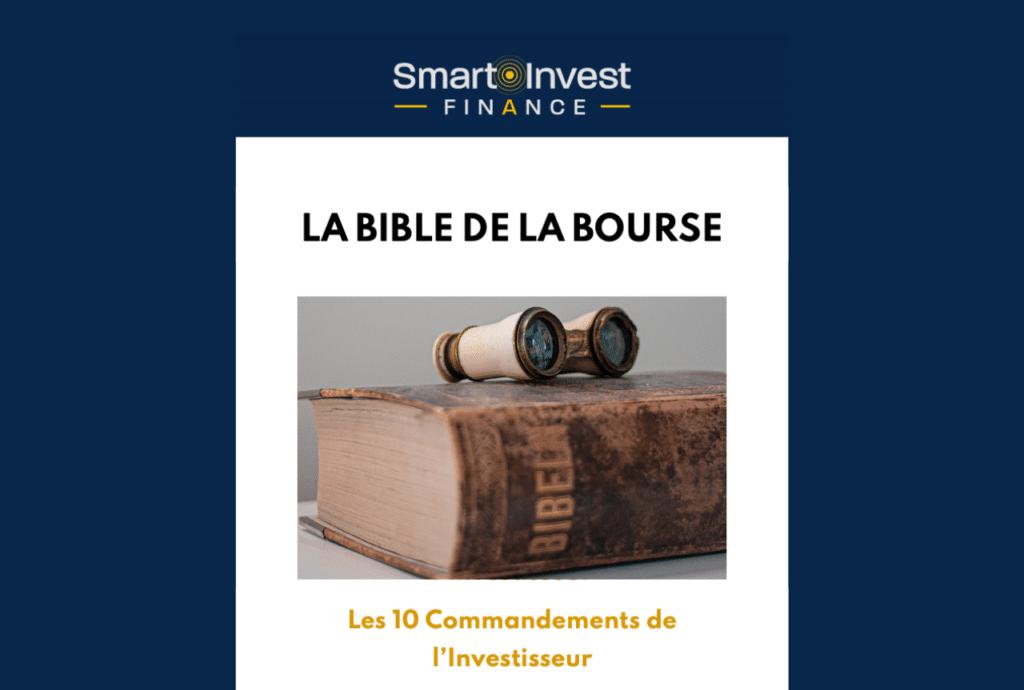 bible de la bourse image guide